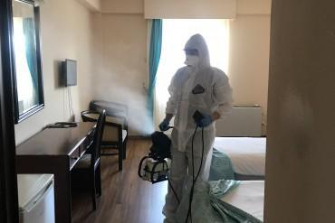 Kurumumuz düzenli aralıklarla dezenfekte ediliyor